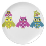 Owl' Always Love You Party Plates
