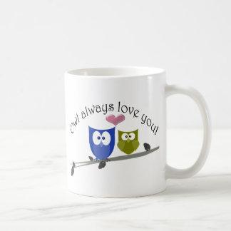 Owl always love you Valentine's Gifts Coffee Mug
