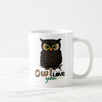 OWL always LOVE you XOXO Coffee Mug