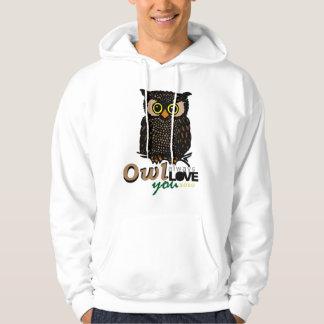 OWL always LOVE you XOXO Hoodie