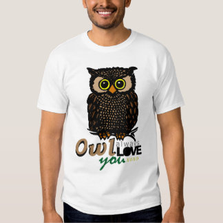 OWL always LOVE you XOXO Shirt