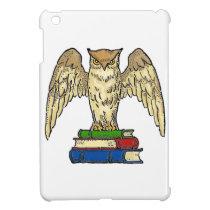 Owl and Books iPad Mini Cases