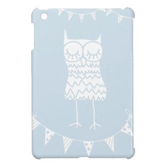 Owl and Buntings iPad Mini Case