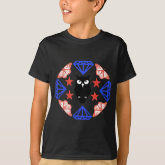 Owl and Diamonds T-Shirt