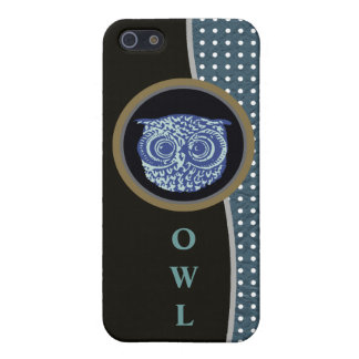 owl and dots case for iPhone SE/5/5s