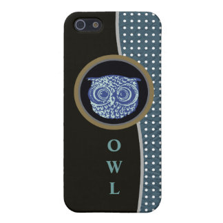 owl and dots iPhone SE/5/5s case