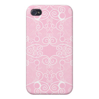 Owl and Firefly Lace Cases For iPhone 4