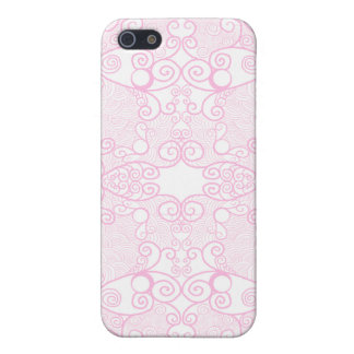 Owl and Firefly Lace Cover For iPhone SE/5/5s