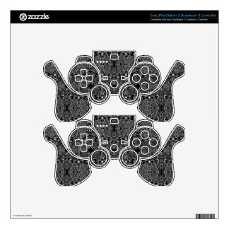 Owl and Firefly Lace Decal For PS3 Controller