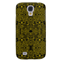 Owl and Firefly Lace Galaxy S4 Case