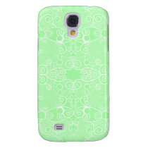 Owl and Firefly Lace Galaxy S4 Cover