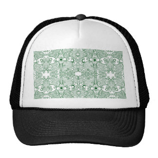 Owl and Firefly Lace Trucker Hats