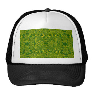 Owl and Firefly Lace Trucker Hat