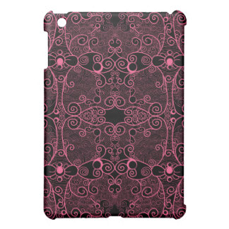Owl and Firefly Lace iPad Mini Cover