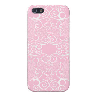 Owl and Firefly Lace Case For iPhone 5