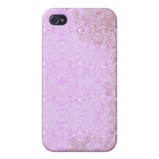Owl and Firefly Lace iPhone 4 Case