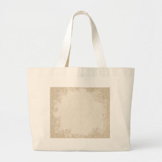 Owl and Firefly Lace Large Tote Bag