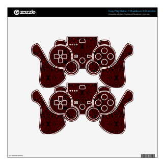 Owl and Firefly Lace PS3 Controller Skins