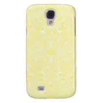 Owl and Firefly Lace Samsung Galaxy S4 Case