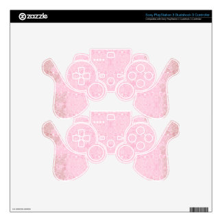 Owl and Firefly Lace Skin For PS3 Controller