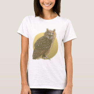 Owl and Full Moon T-Shirt