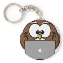 Owl and its Mac Keychain
