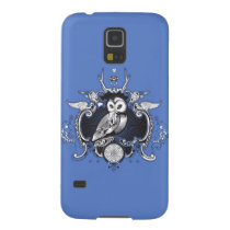Owl and mirror galaxy s5 case