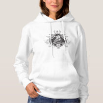 Owl and mirror hoodie