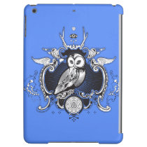 Owl and mirror iPad air cover