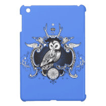 Owl and mirror iPad mini cases