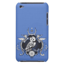 Owl and mirror iPod touch case