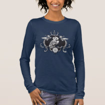 Owl and mirror long sleeve T-Shirt