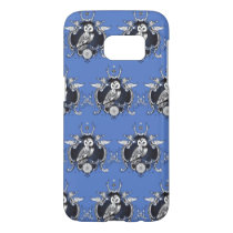 Owl and mirror samsung galaxy s7 case