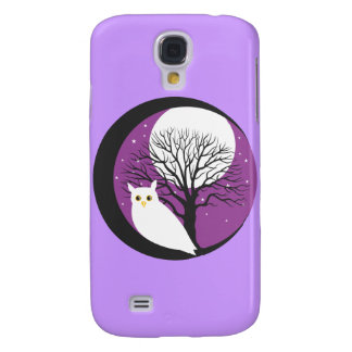 OWL AND MOON GALAXY S4 CASES