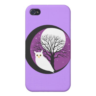 OWL AND MOON iPhone 4 COVERS