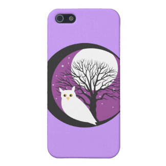 OWL AND MOON iPhone 5/5S CASES