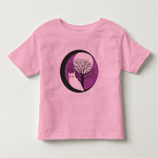 OWL AND MOON TODDLER T-SHIRT