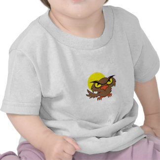 OWL AND MOON T SHIRTS
