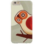 Owl And Moonlight Barely There iPhone 6 Plus Case