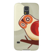 Owl And Moonlight Galaxy S5 Case