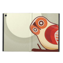 Owl And Moonlight iPad Air Cover