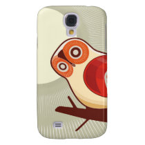 Owl And Moonlight Samsung Galaxy S4 Case