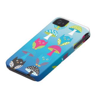 Owl and Mushroom Case-Mate Case Case-Mate Blackberry Case