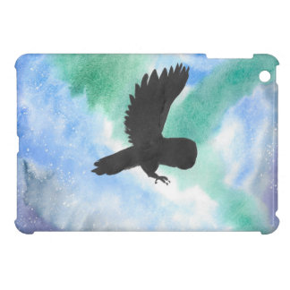 Owl And Northern Lights Cover For The iPad Mini