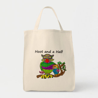 Owl and Owlet Tote Bag