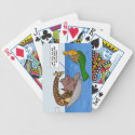 Owl and Pussycat and Others Playing Cards