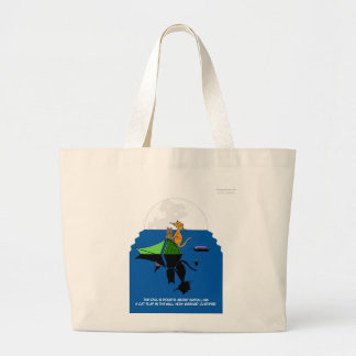 Owl and Pussycat Canvas Bag