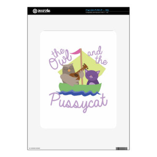 Owl And Pussycat iPad Decal