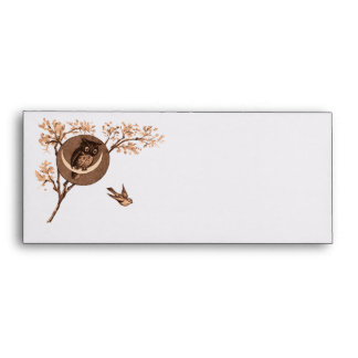 Owl and Sparrow Envelopes