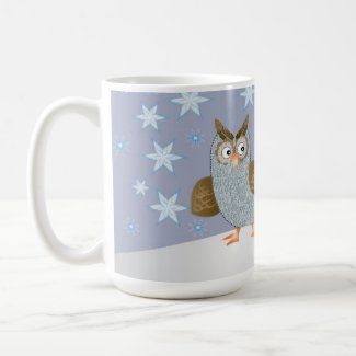 Owl and the Snowman Mugs